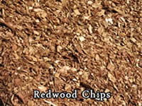 redwood chips from Vic Hannan Landscaping