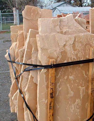 Oak / Sand Flagstone